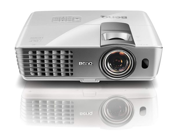 BenQ W1080ST 1080p 3D Short Throw DLP Home Theater Projector best short throw projector under $500
