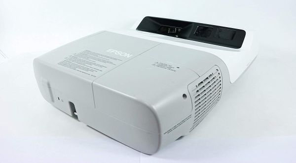 Epson 450Wi Short-Throw LCD Projector 2500 ANSI HD 1080i best epson short throw projector
