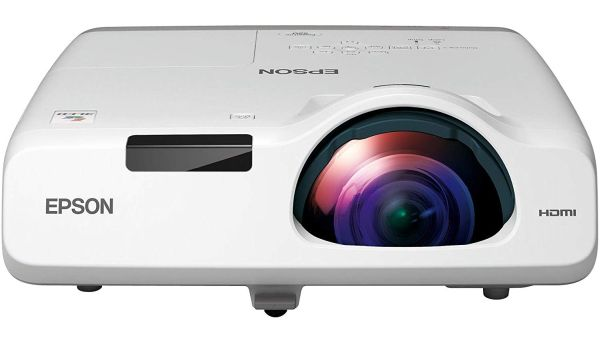 Epson EMP520 Powerlite 520 LCD Projector best epson short throw projector