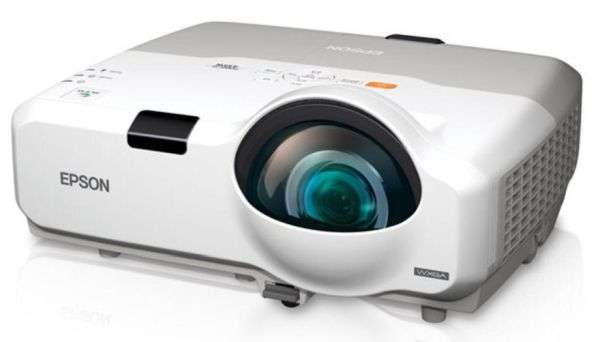 Epson PowerLite 435W WXGA 3LCD Short Throw Projector best short throw projector under $500