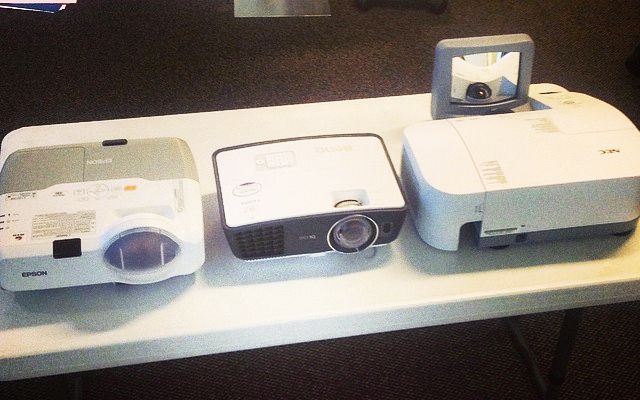 short throw hd projector different models