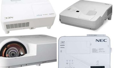 best NEC short throw projector
